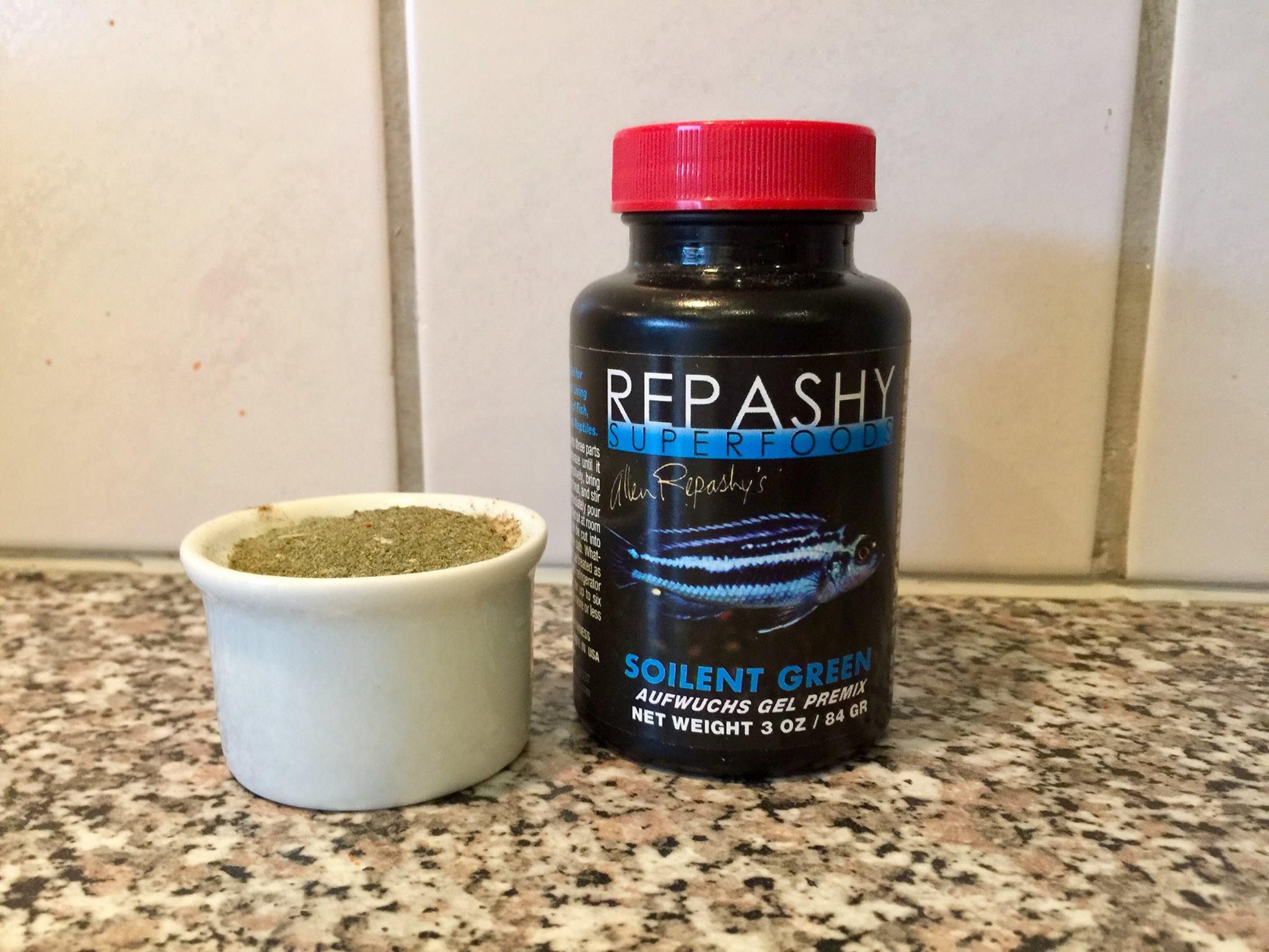 Brug 1 del Repashy pulver
